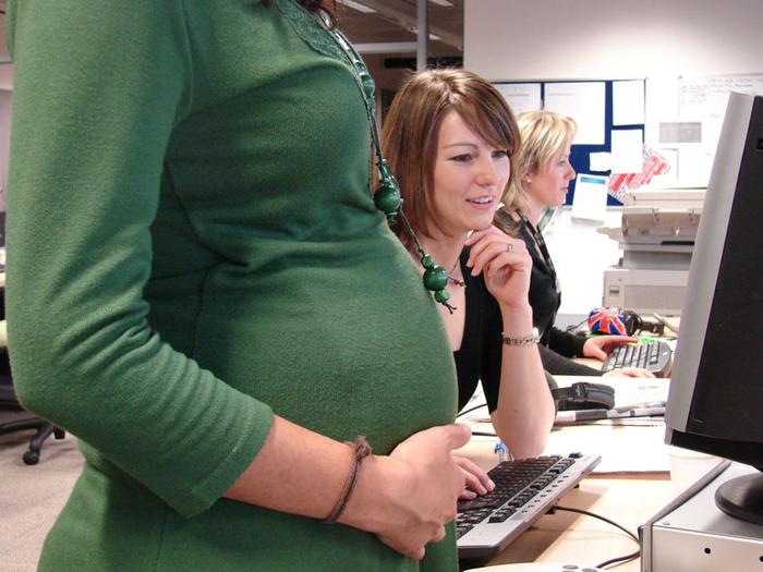 Беременная может стоять на бирже труда 47